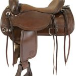 15inch to 18inch Circle Y Topeka Flex2 Trail Saddle 1651