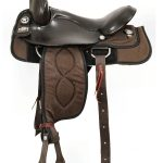 16inch Big Horn Cushion Ralide Flexible Tree Saddle