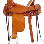 16inch 17inch Dakota Hard Seat Ranch A-Fork Saddle 209af
