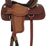 15inch to 17inch Alamo Tooled Bowman Roper Saddle