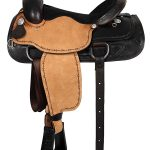 16inch American Saddlery Lexie Collection Barbwire Roper Saddle 603