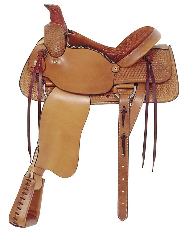 american-saddlery-basketweave-allaround-roping-saddle