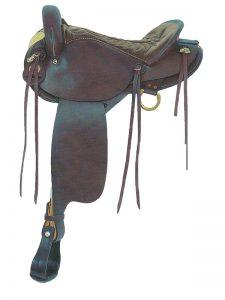american-saddlery-black-endurance-saddle