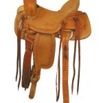 American Saddlery Buckaroo Jr. Youth Roper Saddle