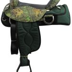 16inch American Saddlery 300 Cordura Flex Trail Saddle_ Wide Tree