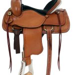 15inch to 17inch American Saddlery Hoss High Roper Saddle 1635