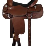 16inch American Saddlery Lexie Collection Barbwire Roper Saddle 605
