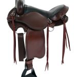 15inch to 17inch American Saddlery Custom Light Flex Tree Trail Saddle 814