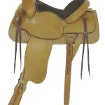 American Saddlery Plain All Around Roping Saddle