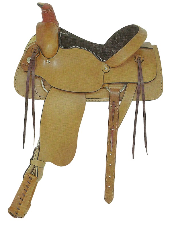 american-saddlery-plain-all-around-roping-saddle