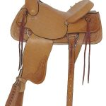 16inch American Saddlery Ranchers All Around Saddle 748