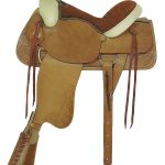 American Saddlery Rawhide All Around Roping Saddle