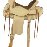 16inch 17inch American Saddlery Rough Out Shooter Saddle 946