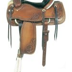 15.5inch American Saddlery MasterCraft Running W Pro Roper Saddle am110-1