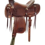 16inch American Saddlery MasterCraft Top Hand Rancher Saddle 128