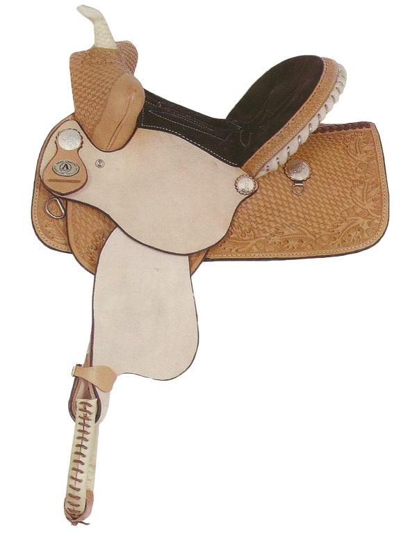 american-saddlery-youth-pro-barrel-saddle