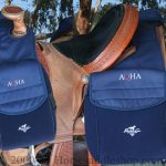 Professionals Choice AQHA Rear Saddle Bag AQ-SB200