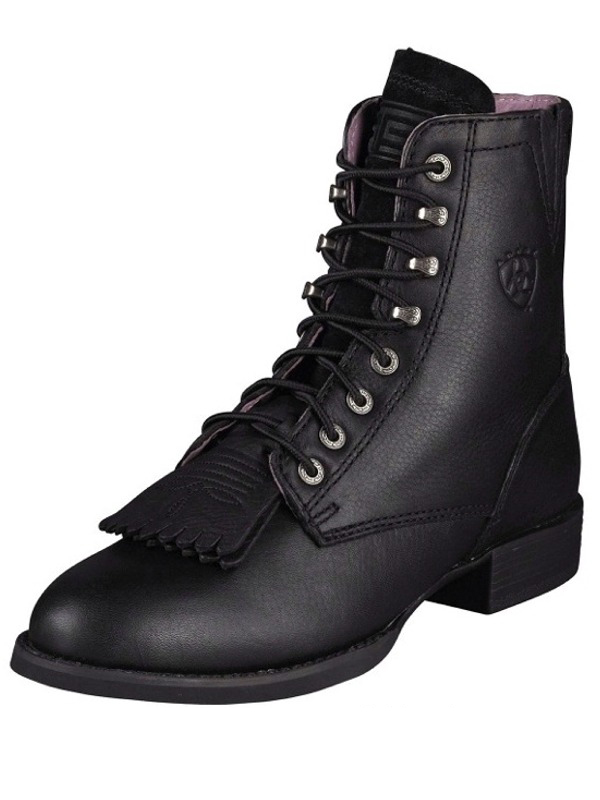 ariat-black-lacer-boots