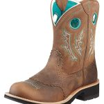 Ariat Women's Fatbaby Cowgirl Boots Powder Brown