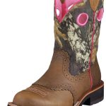 Ariat Womens Fatbaby Cowgirl Boots Wide Square Toe