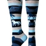 Ariat Horse Striped Knee Socks A10011073