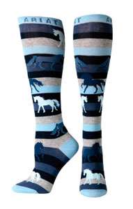 ariat-horse-striped-knee-socks