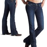 Women's Turquoise Stretch Moonshadow Jeans by Ariat