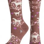 Ariat Womens Horse Lover Crew Socks A10008586