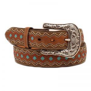 ariat-zip-zag-turquoise-diamond-belt