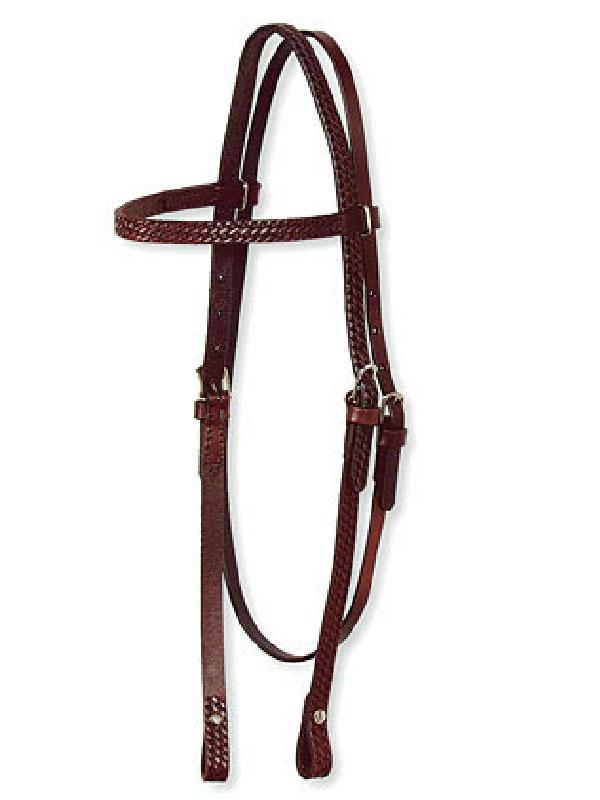 basketweave-headstall