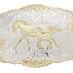 Mare & Colt – Belt Buckle by Crumrine C00242