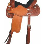 Big Horn Barrel Saddle with Cheyenne Roll 1532