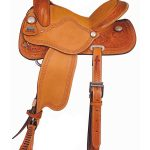 Big Horn Barrel Saddle with Cheyenne Roll 1533