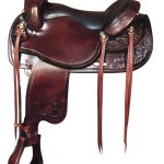 17.5inch Big Horn Draft Horse Saddle 1683