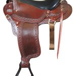 16inch to 18inch Big Horn Endurance Gaited Flex Saddle 1685