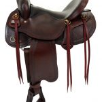 16inch 17inch Big Horn Evolution Flex Trail Saddle 1690 1691