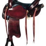 16inch 17inch Big Horn Flex Trail Saddle 1692 1693