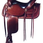 17inch Big Horn Flex Trail Saddle 1696