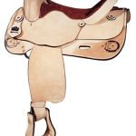 16inch Big Horn Training Reiner Saddle 858