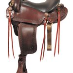 16inch to 18inch Big Horn Western Flex Gaited Saddle 1686