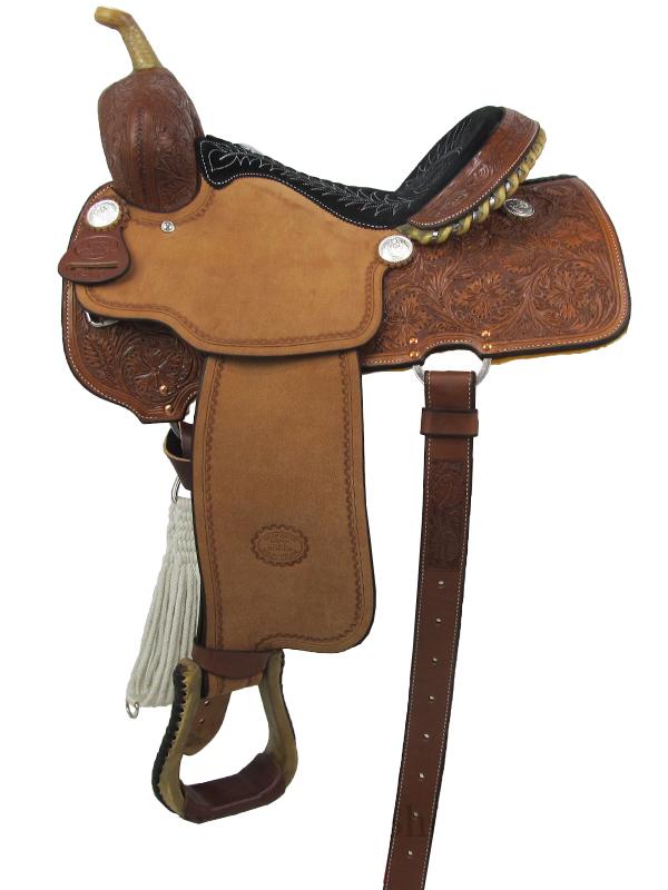 billy-cook-barrel-racing-saddle-1410