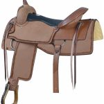 16inch 17inch Billy Cook Down the Fence Cutting Saddle 291577