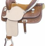 15inch to 16inch Billy Cook Flex Feather Barrel Saddle 291251