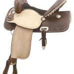 15inch 16inch Billy Cook Flex Flyer Barrel Saddle 291260