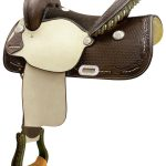14inch to 16inch Billy Cook Spotted Feather Barrel Saddle 291265
