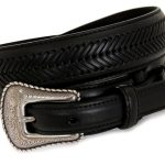 Black Top Hand Mens Ranger Belt