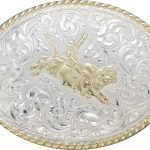 Bull Rider Belt Buckle by Crumrine C06150