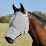 Cashel Crusader Premium Fly Mask Long Nose Without Ears CFML