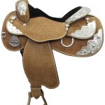 16inch Circle Y Silver Twilight 2833 Show Saddle_ Wide Tree ZDS