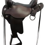 Circle Y Black Mesa Flex2 Trail Saddle 2378 ZDSOK